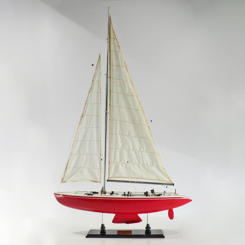 Handcrafted sailing ship model of the Australia