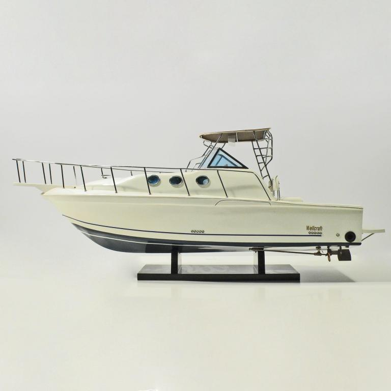 Handmade historical sailing ship model of the Wellcraft (70cm)